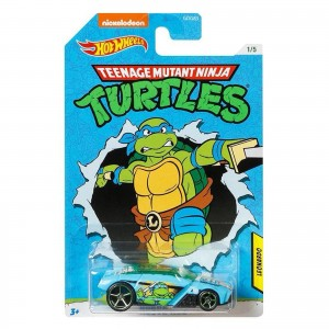 Hot Wheels - Rogue Hog - Leonardo - Tartarugas Ninja - GJV12