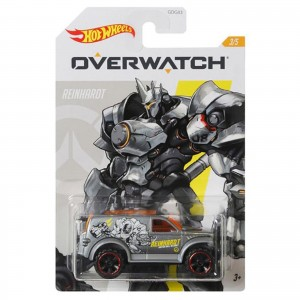 Hot Wheels - Power Panel - Reinhardt - Overwatch - GJV15