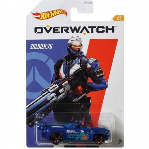 Hot Wheels - Solid Muscle - Soldier:76 - Overwatch - GJV17