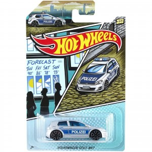 Hot Wheels - Volkswagen Golf MK7 - Série Policia - GJV66