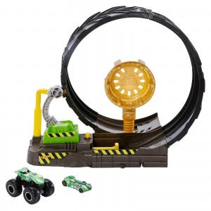 Pista Hot Wheels - Desafio do Looping  - Monster Trucks - GKY00