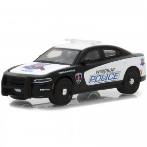 Miniatura - 1:64 - 2017 Dodge Charger Pursuit Windsor Police Service - Hot Pursuit 26 - Greenlight