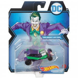 Hot Wheels - The Joker Hot Rod - DC Comics - Character Cars - GMH97