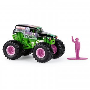 Miniatura - 1:64 - Monster Truck Grave Digger - Monster Jam