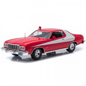 Miniatura - 1:43 - 1976 Ford Gran Torino - Starsky & Hutch - Greenlight