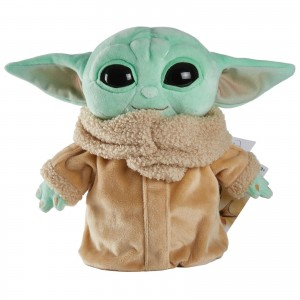 Boneco Pelúcia - Baby Yoda The Child - Star Wars - Mandalorian - Disney - GWH23
