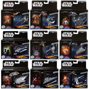 Hot Wheels - Set 9 Miniaturas - Star Wars Commemorative Series - FYT81