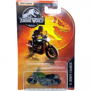Matchbox - '15 Triumph Scrambler - Jurassic World - GDP03