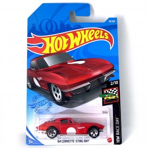 Hot Wheels - '64 Corvette Sting Ray - GRX90