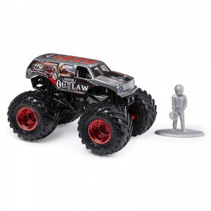 Miniatura - 1:64 - Monster Truck Iron Outlaw - Monster Jam