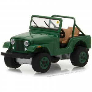 Miniatura - 1:64 - 1974 Jeep CJ - 5 - Mecum Auctions - Greenlight