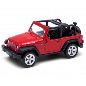 Miniatura - 1:64 - Jeep Wrangler Rubicon Convertible - California Minis - Welly
