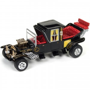 Miniatura - 1:64 - The Barris Koach - Carro Os Monstros - Silver Screen - Johnny Lightning