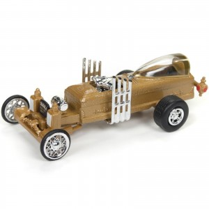 Miniatura - 1:64 - Barris Dragu - U - La - Silver Screen Machines - Johnny Lightning