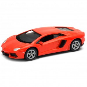 Miniatura - 1:64 - Lamborghini Aventador Coupé - California Minis - Welly