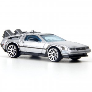 Hot Wheels - Back To The Future Time Machine - T9688