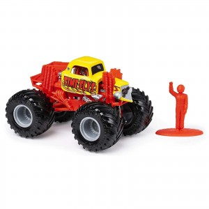 Miniatura - 1:64 - Monster Truck Time Flys - Monster Jam