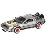 Miniatura - 1:24 - Delorean Time Machine - Back To The Future III - 22444W - Welly
