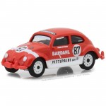 Miniatura - 1:64 - 1967 Volkswagen Beetle / Fusca - Bardahl Emerson Fittipaldi Team - Greenlight