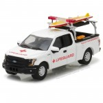 Miniatura - 1:64 - 2016 Ford F-150 Lifeguard - Greenlight