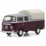 Miniatura - 1:64 - Kombi 1971 Volkswagen Double Cab Pickup - Mecum Auctions - Greenlight