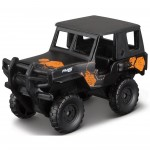Miniatura - 1:64 - Jeep Alpha Black - FreshMetal Forces - Maisto