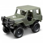 Miniatura - 1:64 - Jeep Alpha Green - FreshMetal Forces - Maisto