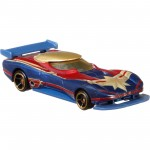Hot Wheels - Capitã Marvel - Character Cars - FYV04