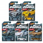 Hot Wheels - Set de 5 Miniaturas - Velozes e Furiosos - GDG44