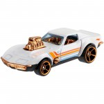 Hot Wheels - '68 Corvette - Gas Monkey Garage - Aniversário 52 Anos Pearl & Chrome - GJW52