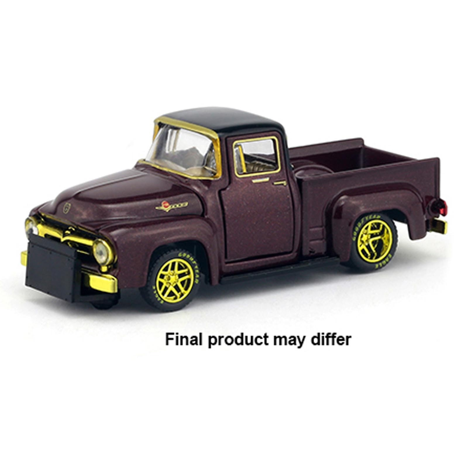 Miniatura - 1:64 - ​​​​​​1956 Ford  F-100 Truck Chase - Model Kit R25 - M2 Machines
