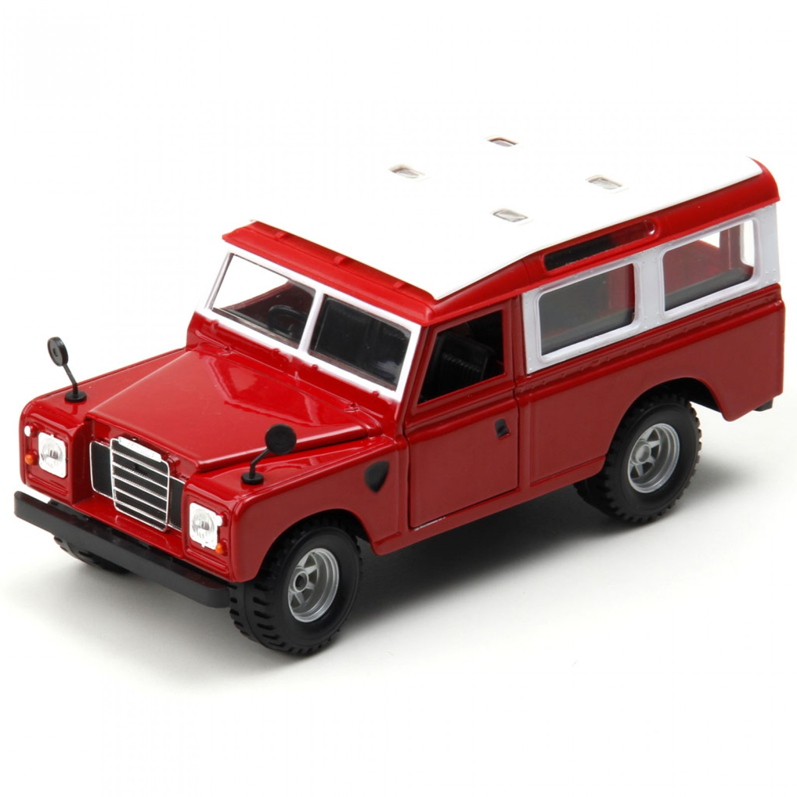 Miniatura em Metal - 1:24 - Land Rover Defender Series