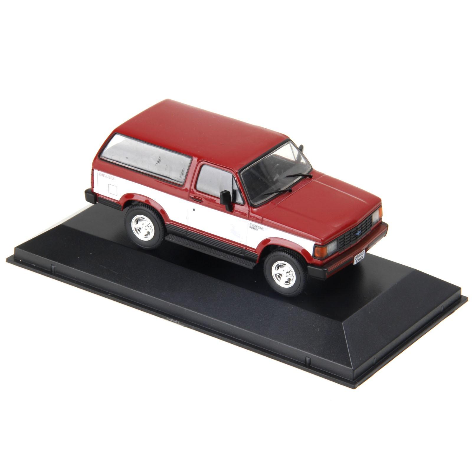 Miniatura em Metal - 1:43 - Chevrolet Bonanza 1989 - Série Carros Inesquecíveis do Brasil