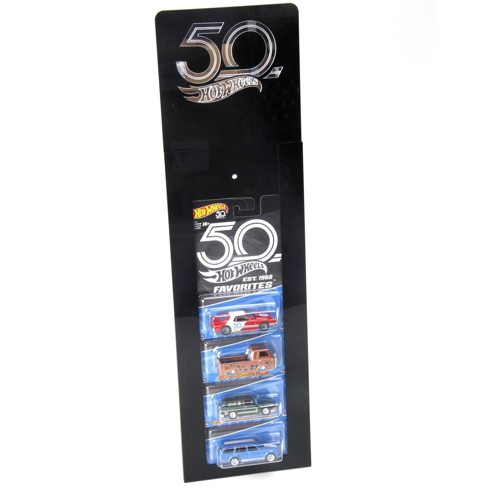 Expositor Hot Wheels - 50 Years Favorites - Acrílico