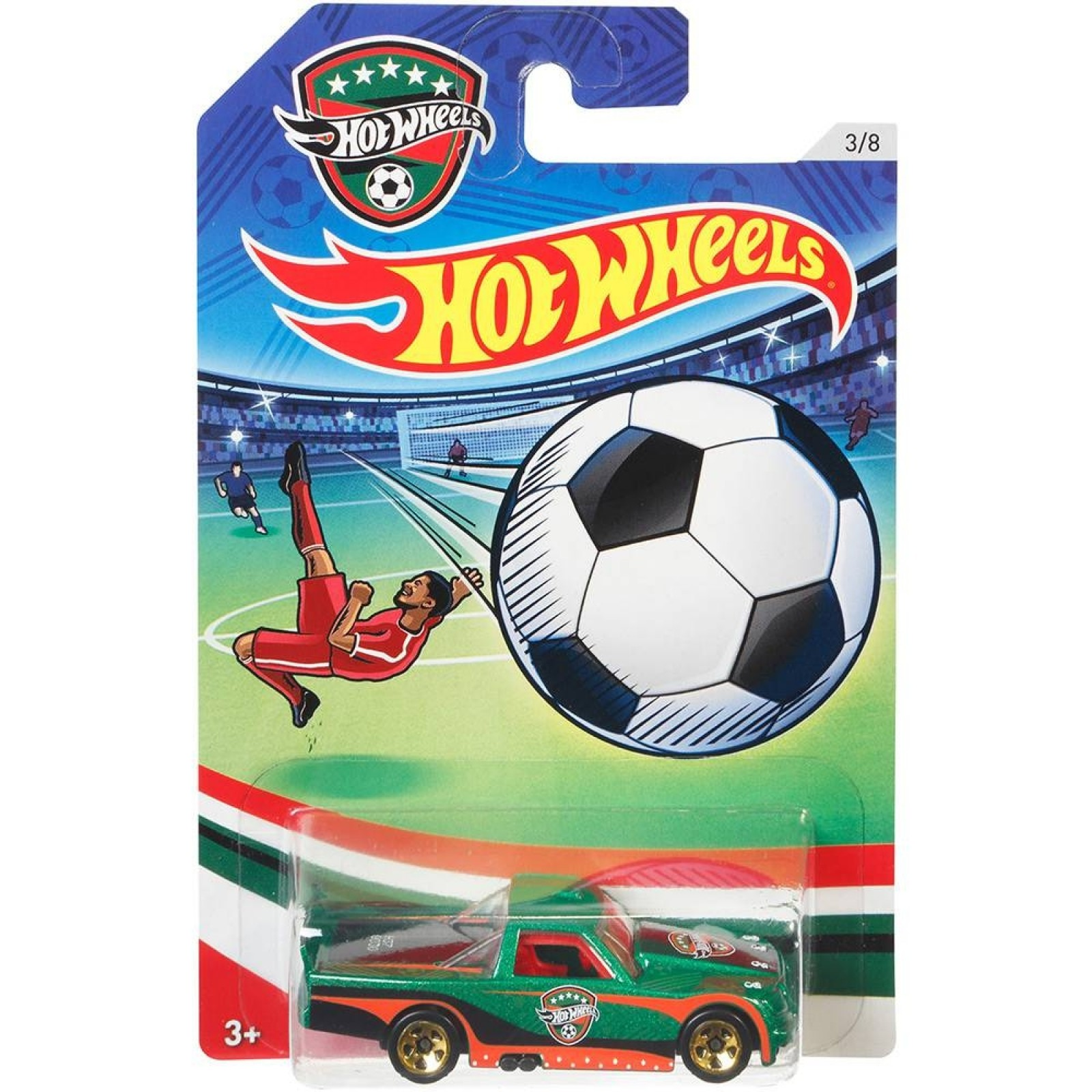 Hot Wheels - Circle Tucker - DJL44 - Série UEFA