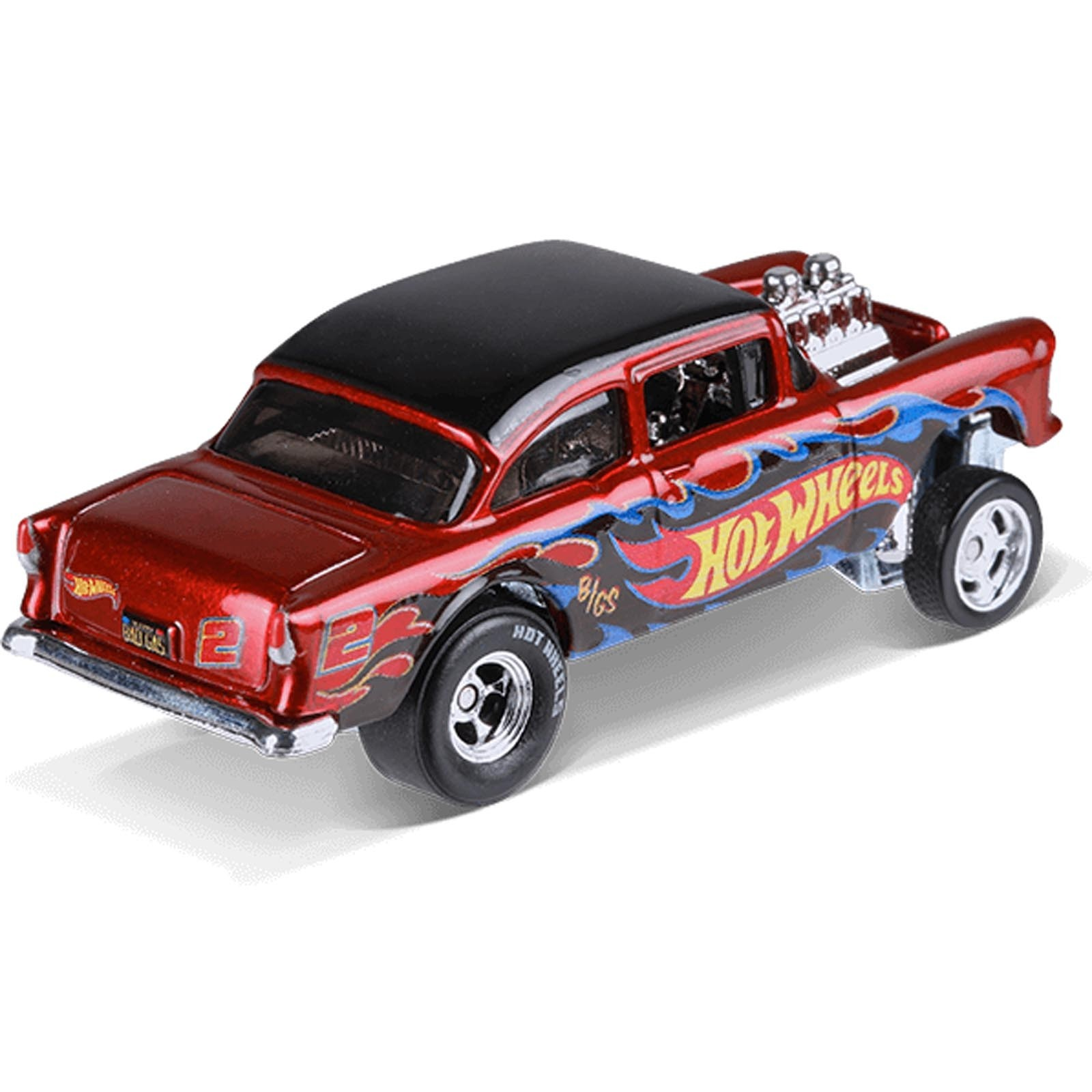 Hot Wheels - '55 Chevy Bel Air Gasser - Red Line Club - FKF90