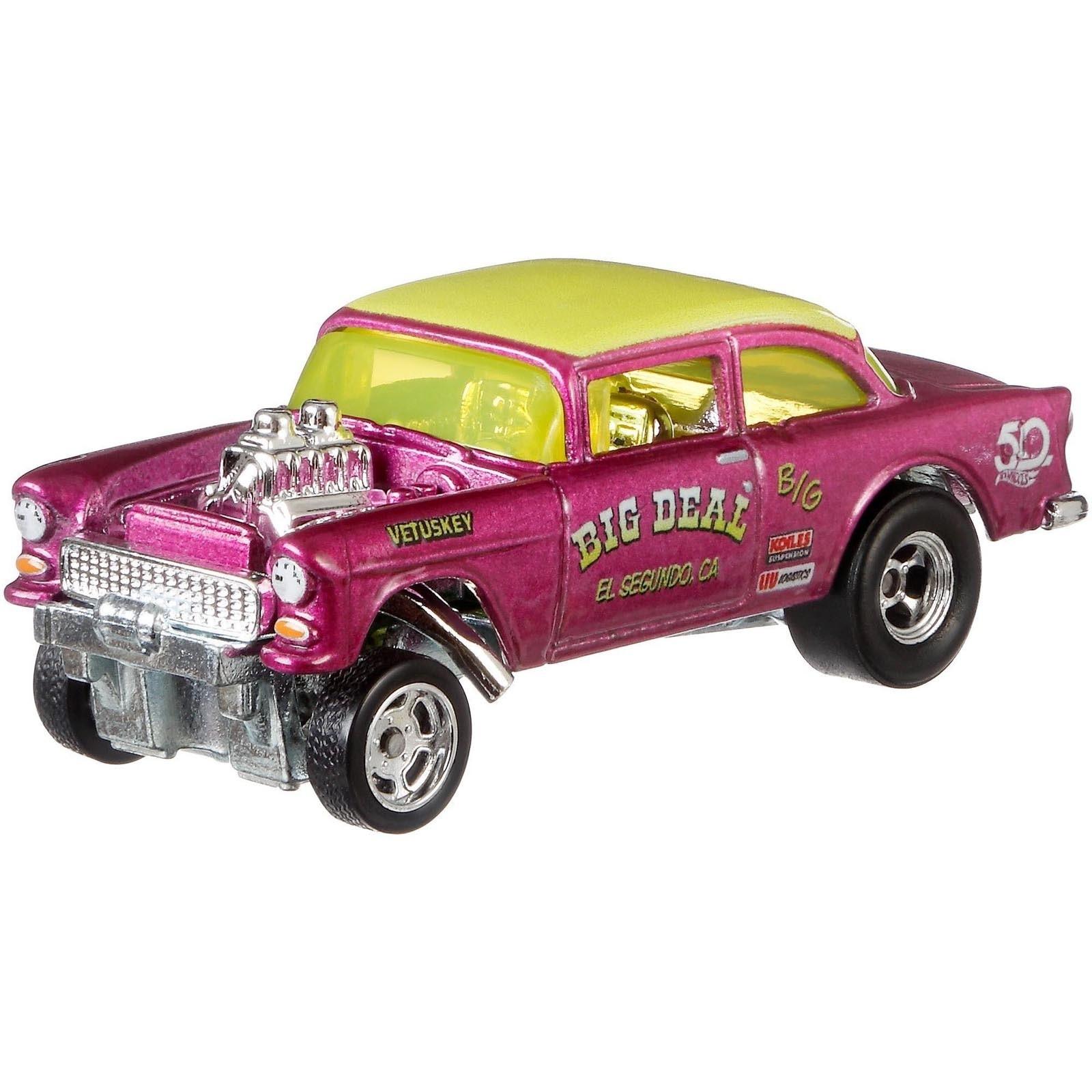 Hot Wheels - '55 Chevy Bel Air Gasser - Favoritos 50 Anos - FLF43