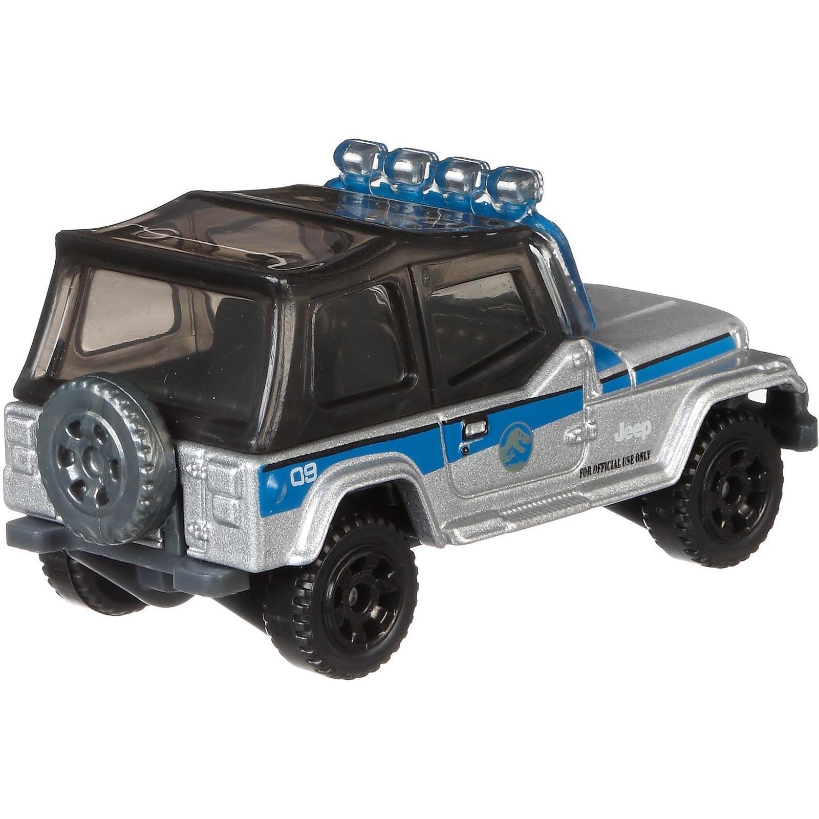 Matchbox - '93 Jeep Wrangler #9 - Jurassic World - FMX10