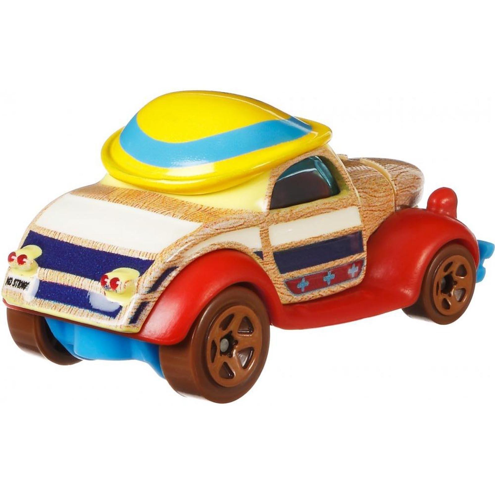 Hot Wheels - Pinóquio - Disney - Character Cars - FYV85