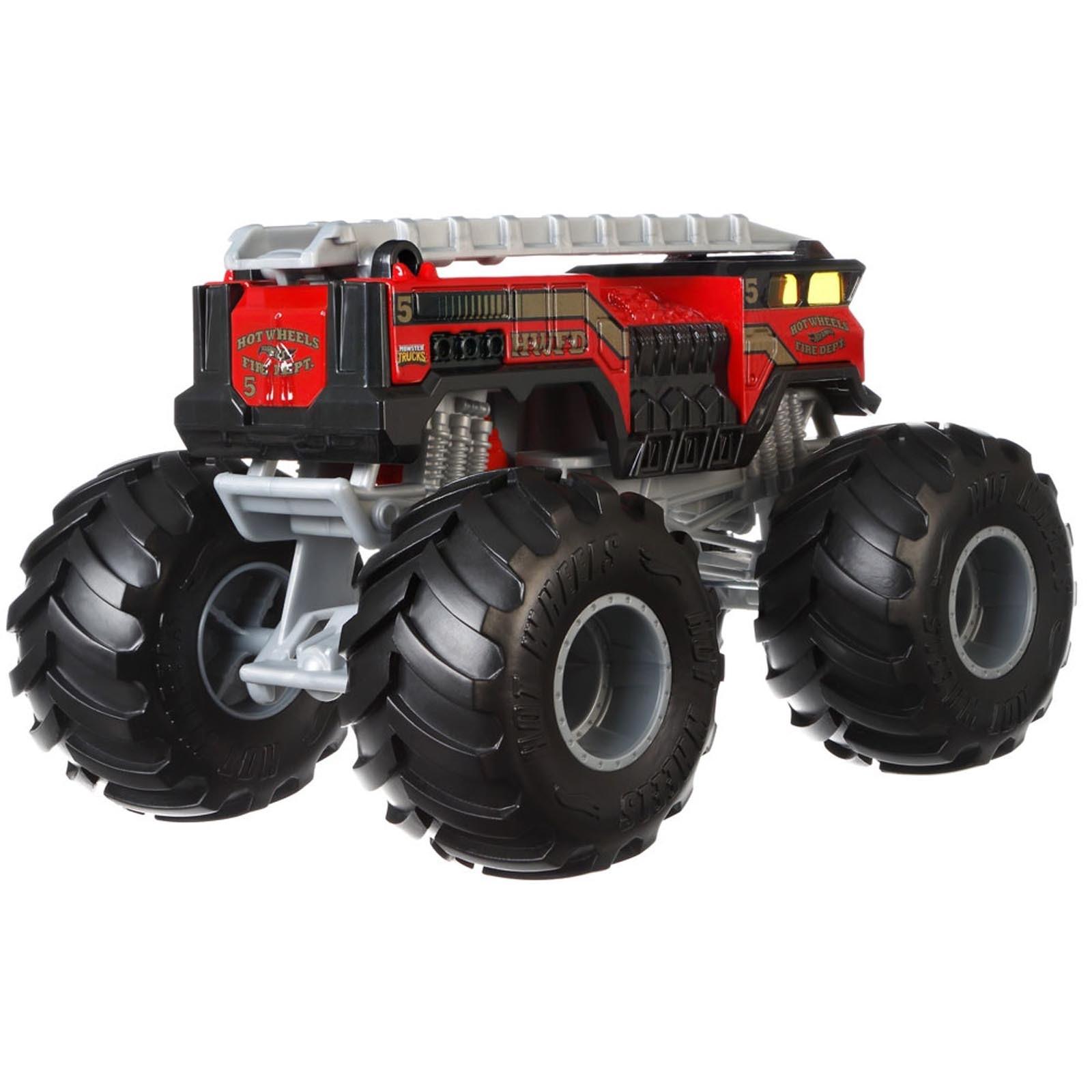 Hot Wheels - 1:24 - 5 Alarm - Monster Trucks - GBV34