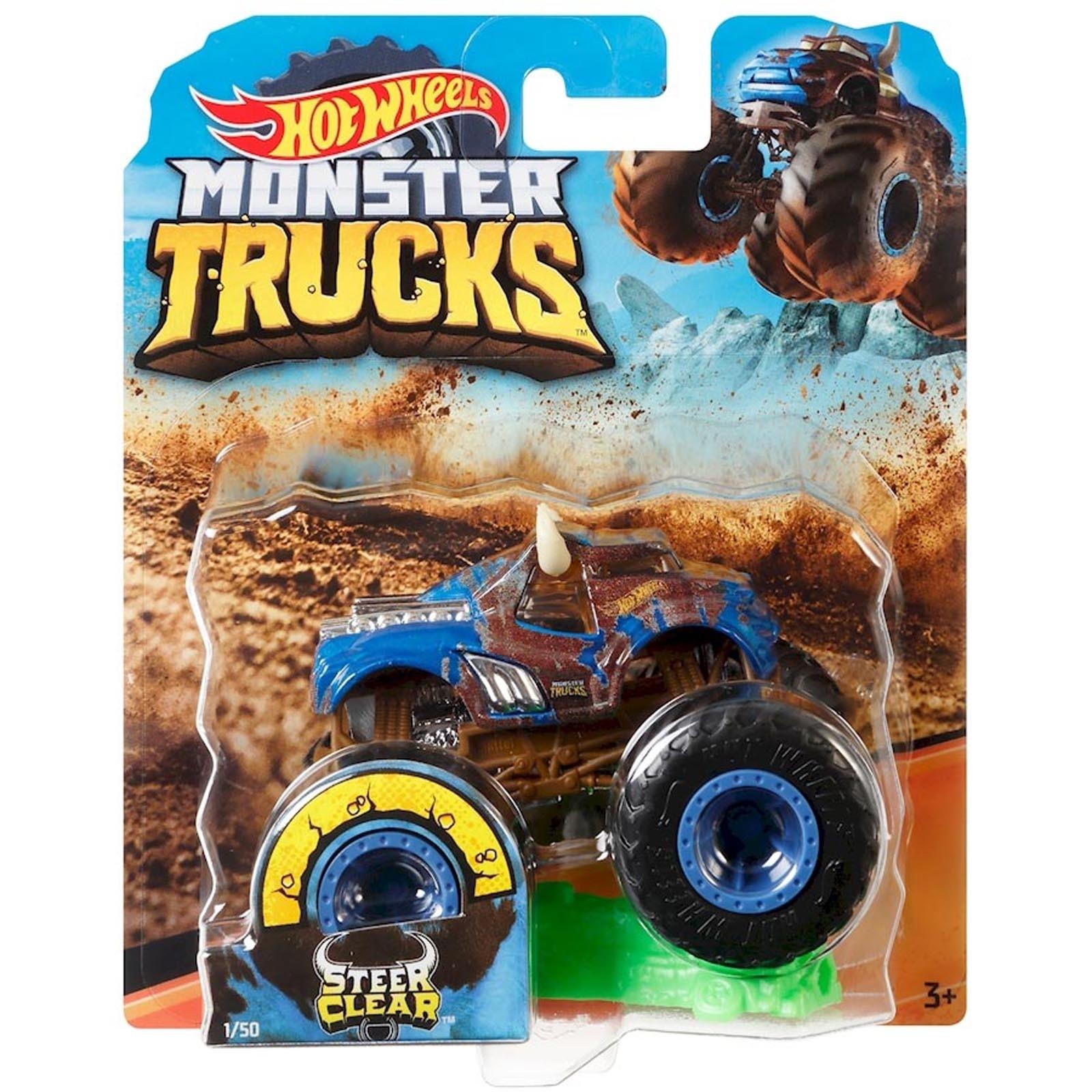 Hot Wheels - 1:64 - Steer Clear - Monster Trucks - GJF21