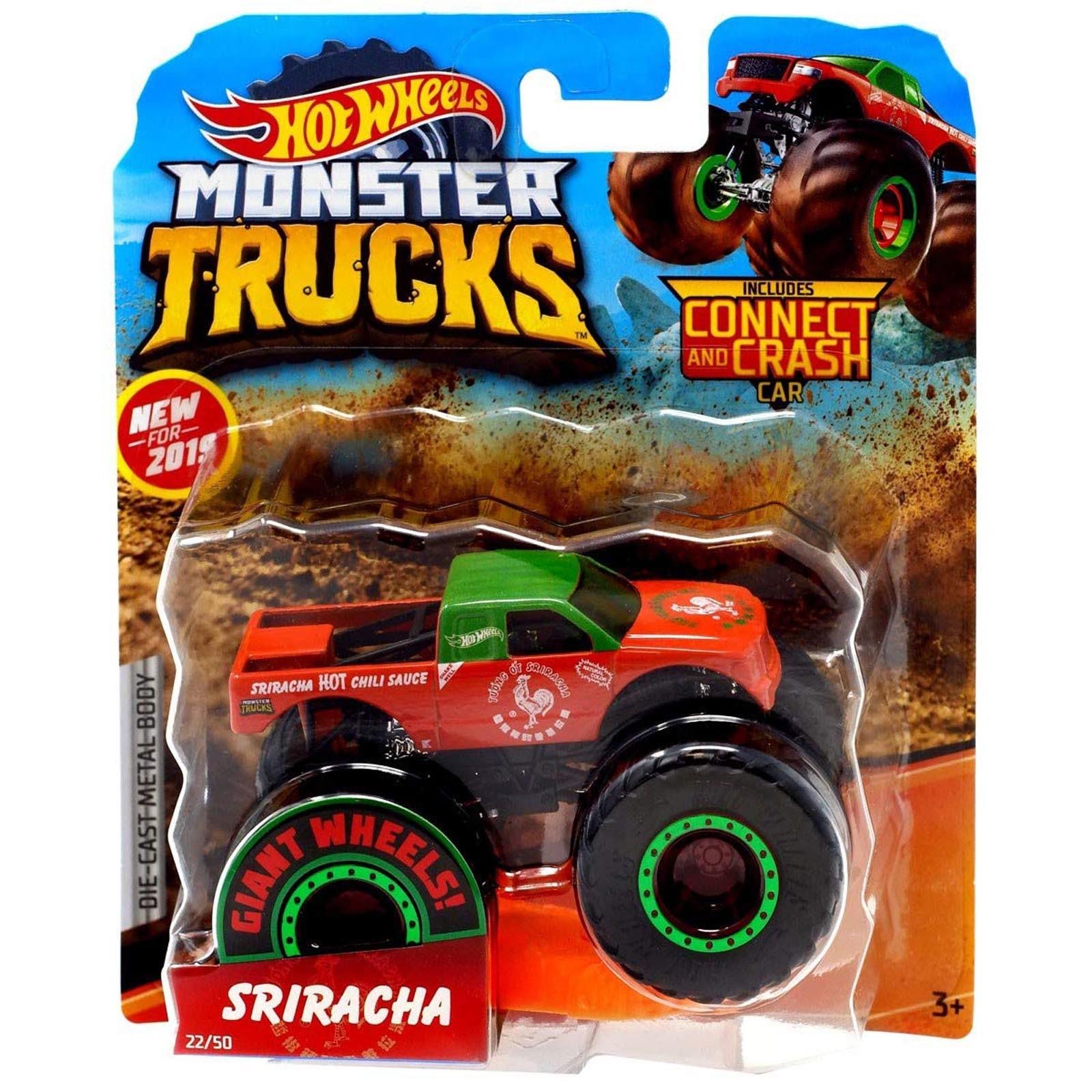Hot Wheels - 1:64 - Sriracha - Monster Trucks - GJF34