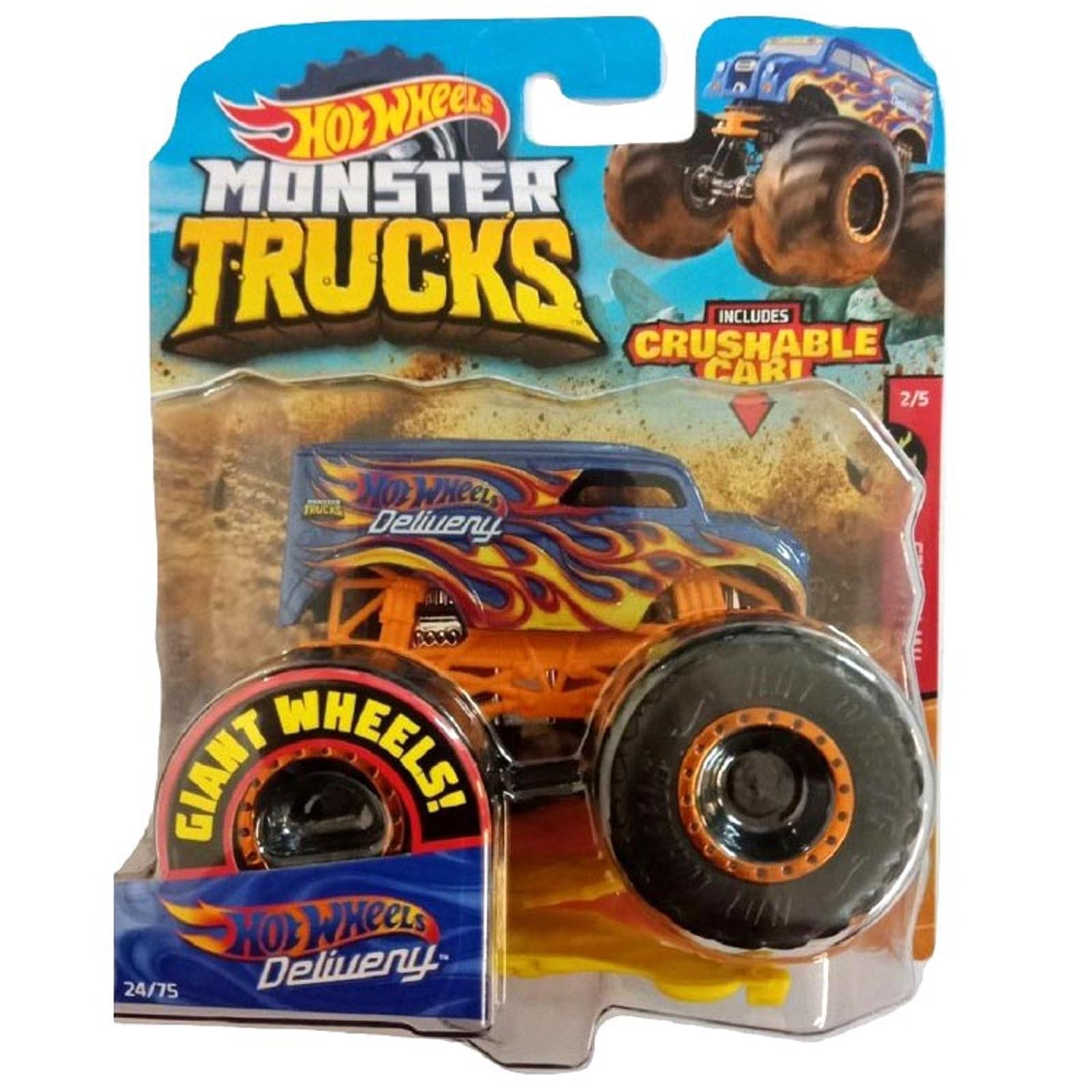 Hot Wheels - 1:64 - Hot Wheels Delivery - Monster Trucks - GJF51