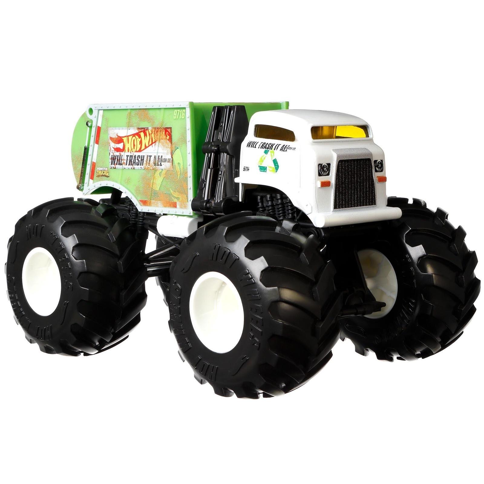 Hot Wheels - 1:24 - Will Trash It All - Monster Trucks - GJG72