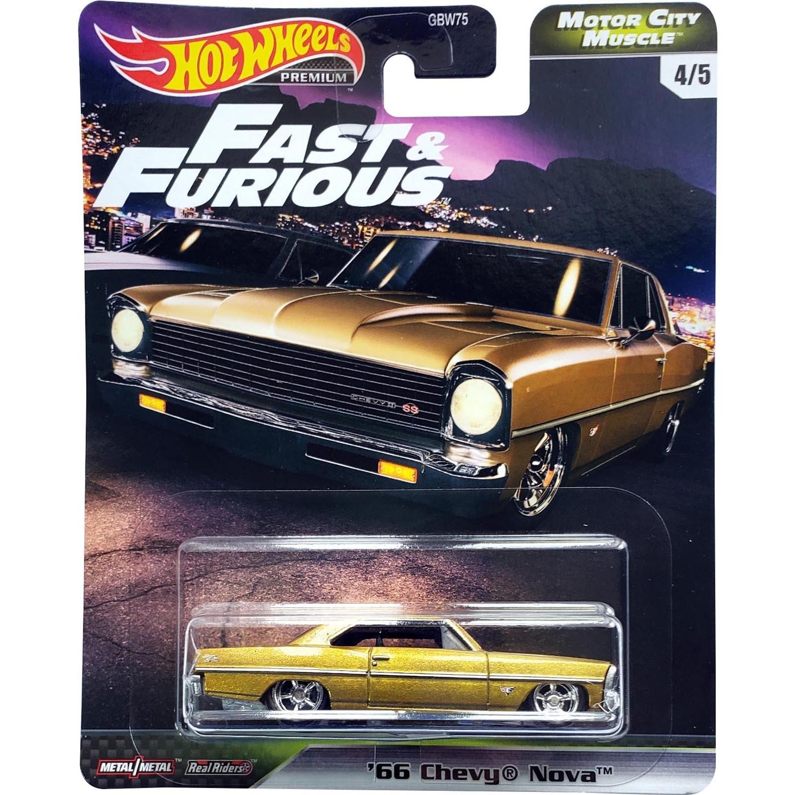 Hot Wheels - '66 Chevy Nova - Velozes e Furiosos - GJR72