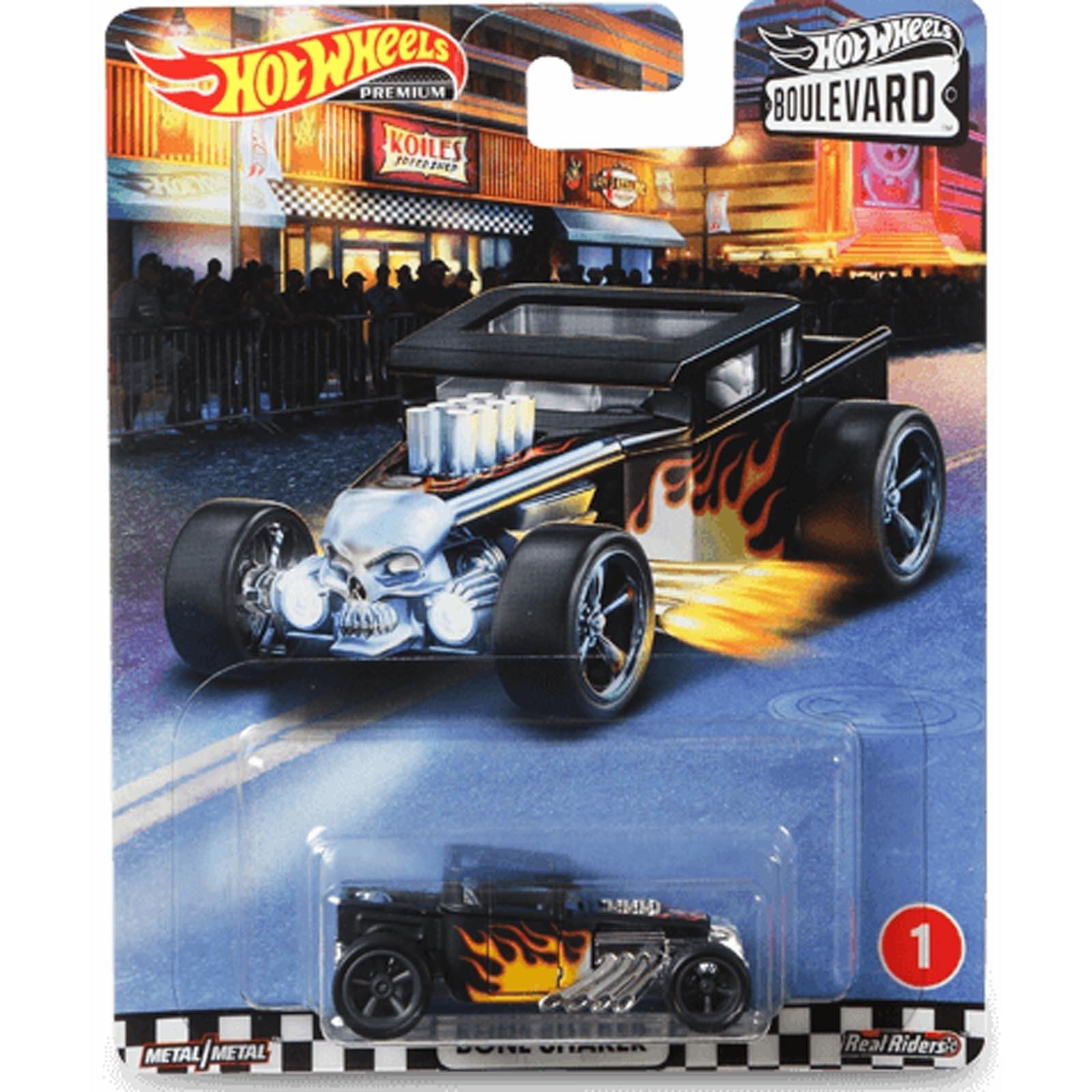 Hot Wheels - Set de 5 Miniaturas - Boulevard - GJT68