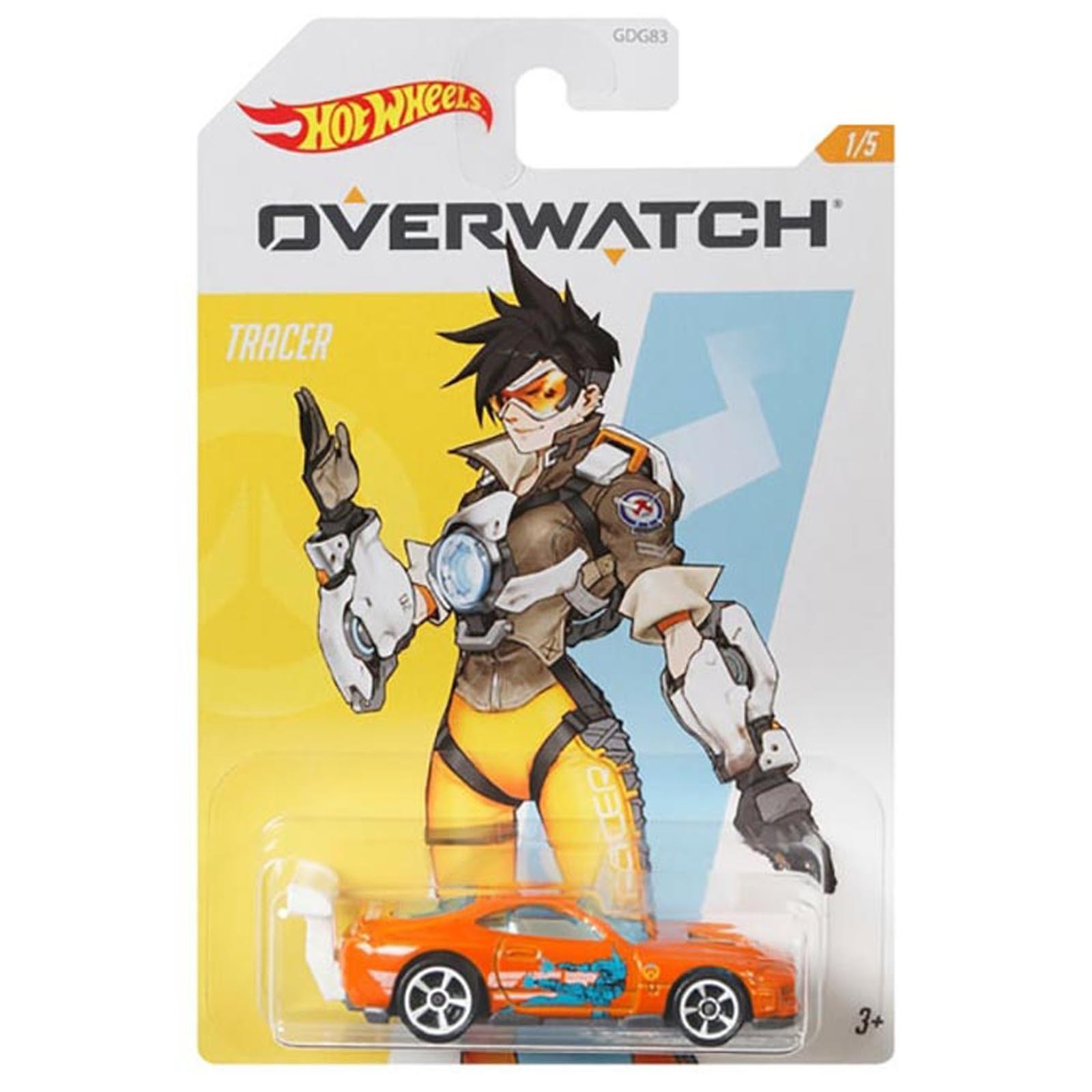 Hot Wheels - Power Pro - Tracer - Overwatch - GJV14