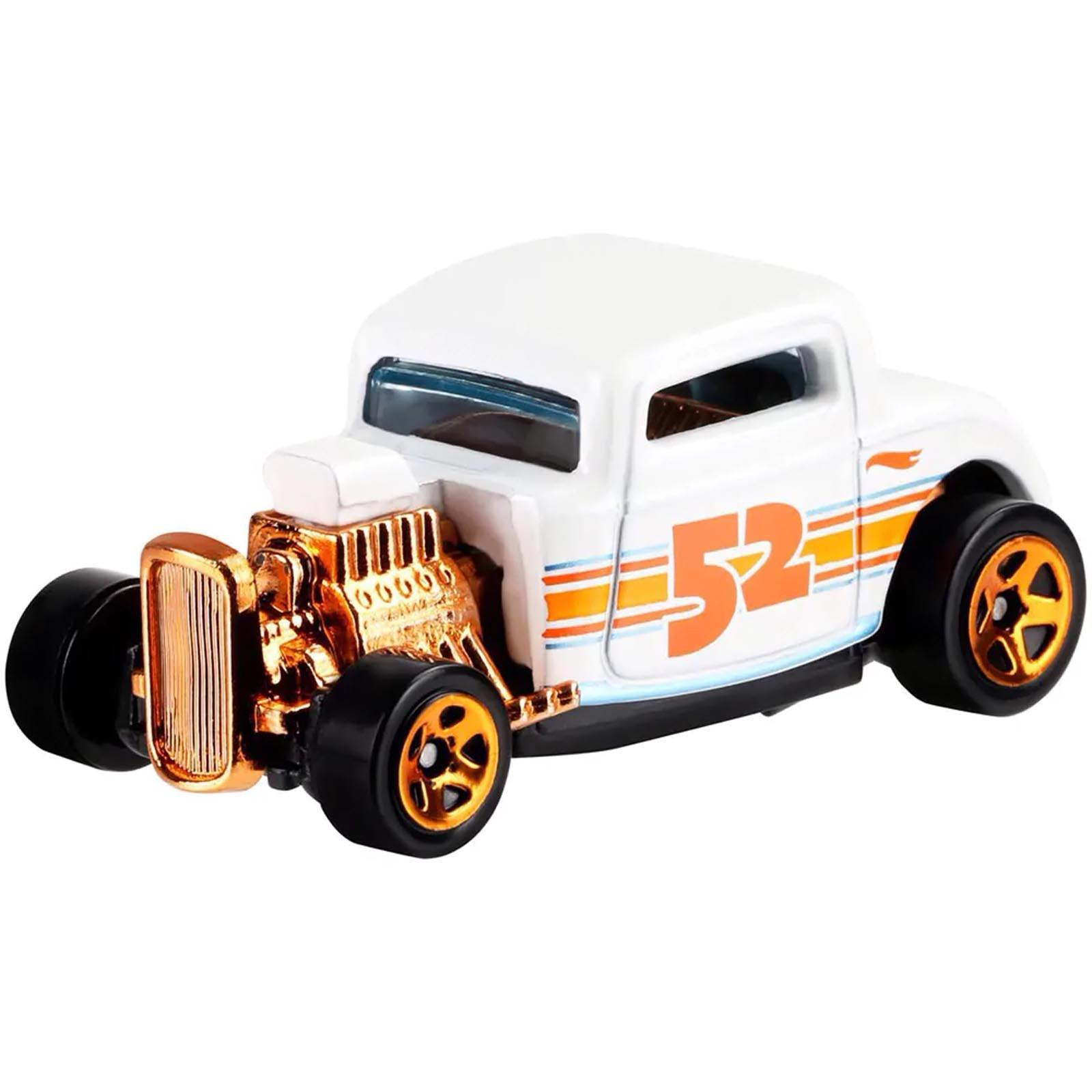 Hot Wheels - Set de 6 Miniaturas - Aniversário 52 Anos Pearl & Chrome - GJW48