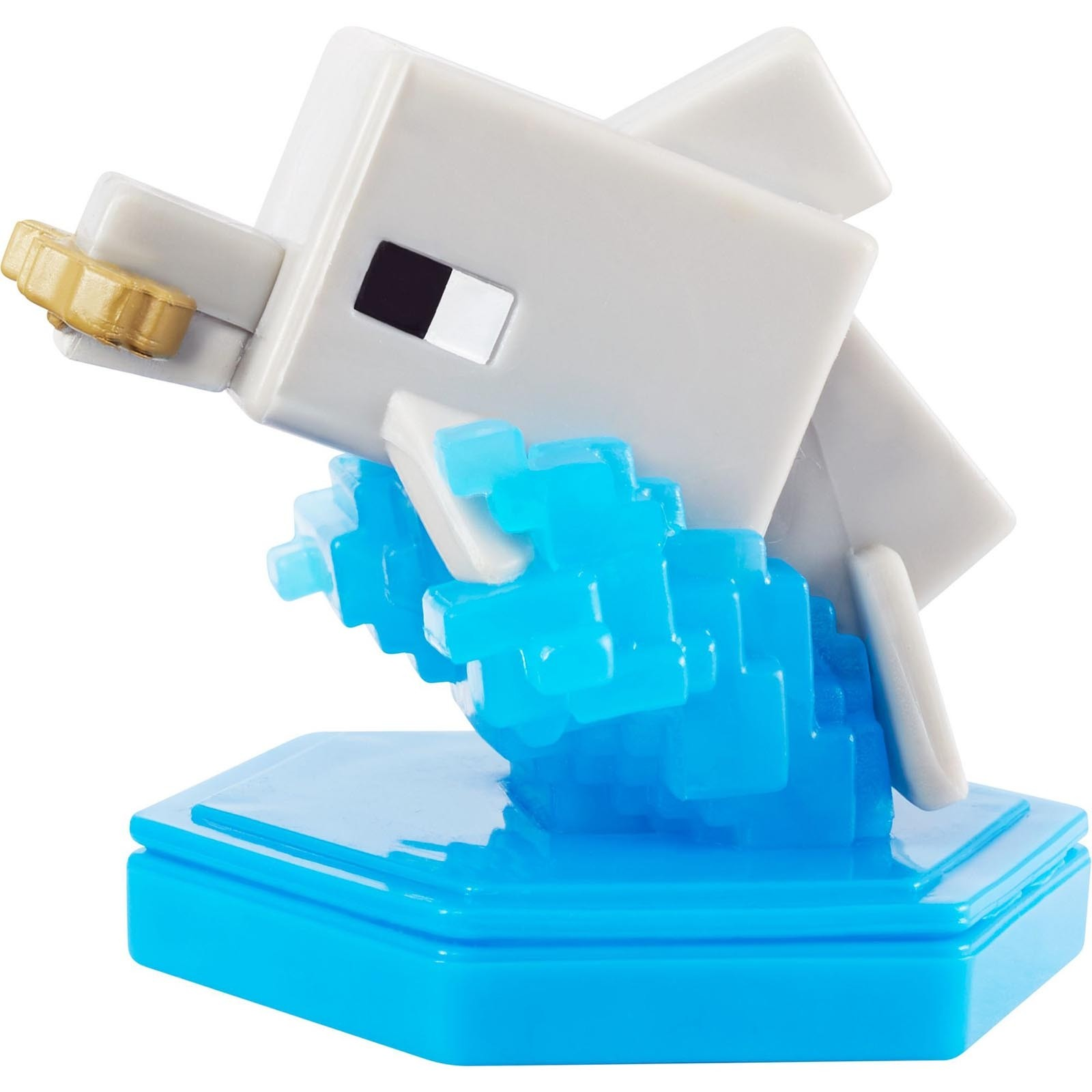 Mini Boneco 4 cm - Seeking Dolphin - Minecraft - GKT35