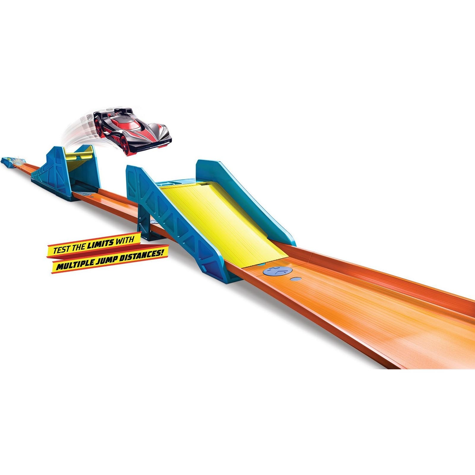 Conjunto Salto Longo Hot Wheels - Track & Builder Unlimited - GLC89